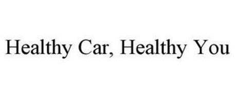 HEALTHY CAR, HEALTHY YOU