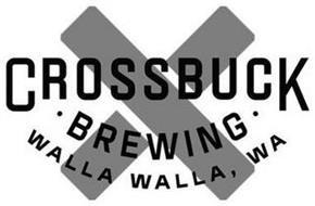 X CROSSBUCK · BREWING · WALLA WALLA, WA