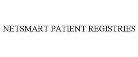 NETSMART PATIENT REGISTRIES