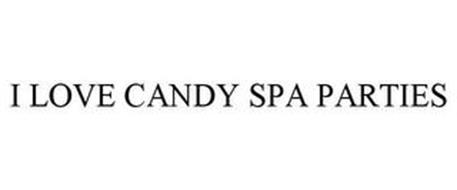 I LOVE CANDY SPA PARTIES