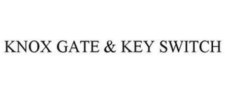 KNOX GATE & KEY SWITCH
