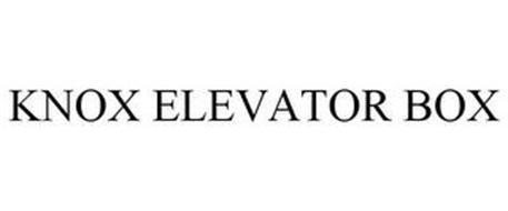 KNOX ELEVATOR BOX
