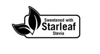 SWEETENED WITH STARLEAF STEVIA