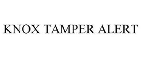 KNOX TAMPER ALERT