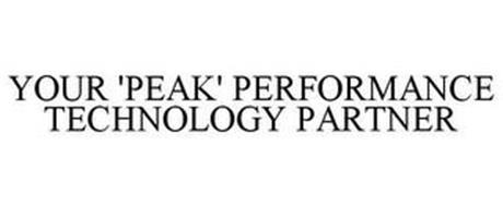 YOUR 'PEAK' PERFORMANCE TECHNOLOGY PARTNER