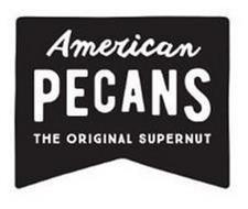 AMERICAN PECANS THE ORIGINAL SUPERNUT