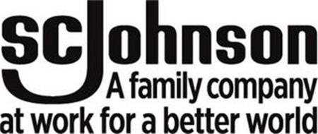 SC JOHNSON A FAMILY COMPANY AT WORK FOR A BETTER WORLD