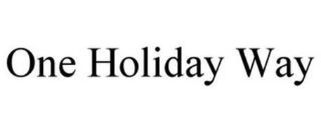 ONE HOLIDAY WAY