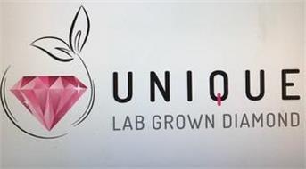 UNIQUE LAB GROWN DIAMOND