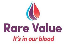 RARE VALUE IT'S IN OUR BLOOD