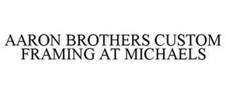 AARON BROTHERS CUSTOM FRAMING AT MICHAELS