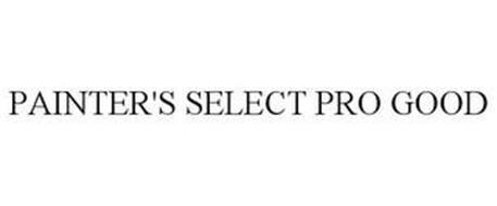 PAINTER'S SELECT PRO GOOD