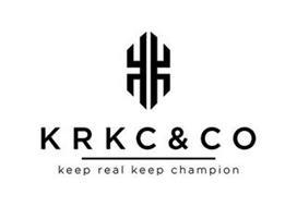 KRKC&CO KEEP REAL KEEP CHAMPION