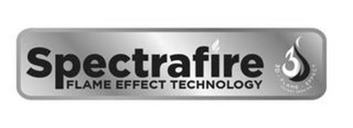 SPECTRAFIRE FLAME EFFECT TECHNOLOGY 3D 3D · FLAME · EFFECT PATENT PENDING
