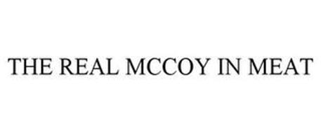 THE REAL MCCOY IN MEAT