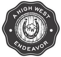 A HIGH WEST ENDEAVOR HW