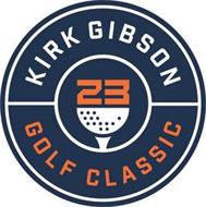 KIRK GIBSON 23 GOLF CLASSIC