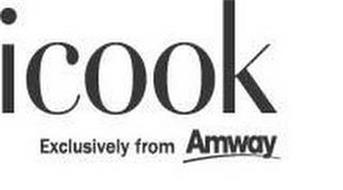 ICOOK EXCLUSIVELY FROM AMWAY