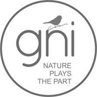 GNI NATURE PLAYS THE PART