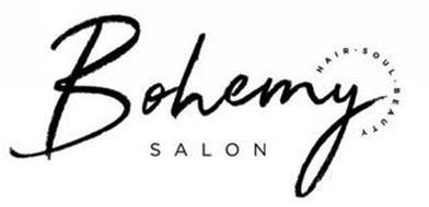 BOHEMY SALON HAIR · SOUL · BEAUTY