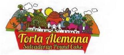 TORTA ALEMANA SALVADORAN POUND CAKE