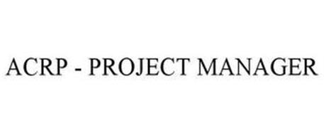 ACRP - PROJECT MANAGER