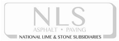 NLS ASPHALT· PAVING NATIONAL LIME & STONE SUBSIDIARIES