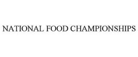 NATIONAL FOOD CHAMPIONSHIPS