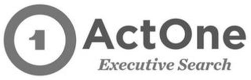 1 ACTONE EXECUTIVE SEARCH