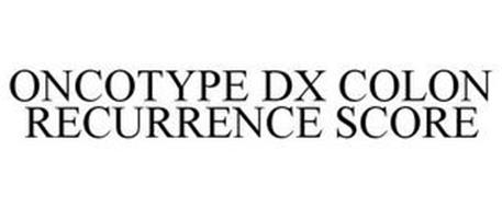 ONCOTYPE DX COLON RECURRENCE SCORE