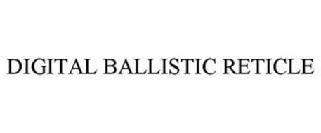 DIGITAL BALLISTIC RETICLE
