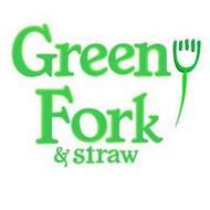 GREEN FORK & STRAW