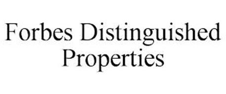 FORBES DISTINGUISHED PROPERTIES