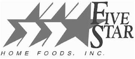 FIVE STAR HOME FOODS, INC.