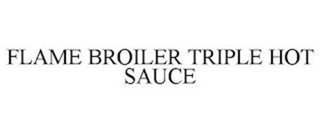 FLAME BROILER TRIPLE HOT SAUCE