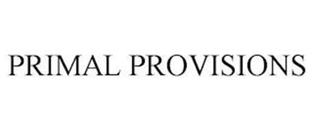PRIMAL PROVISIONS