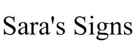 SARA'S SIGNS