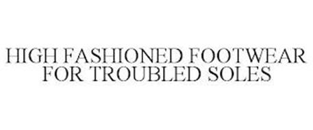 HIGH FASHIONED FOOTWEAR FOR WOMEN WITH TROUBLED SOLES