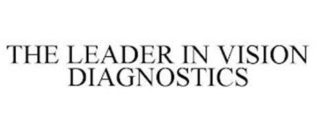 THE LEADER IN VISION DIAGNOSTICS
