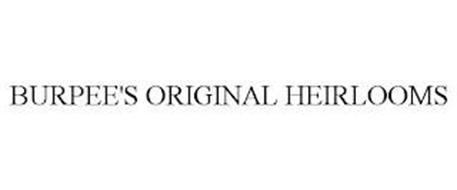BURPEE'S ORIGINAL HEIRLOOMS