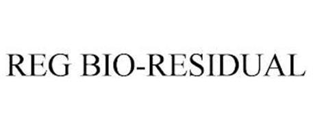 REG BIO-RESIDUAL