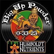 BIG UP POWDER 0-33-23 HUMBOLDT NUTRIENTS