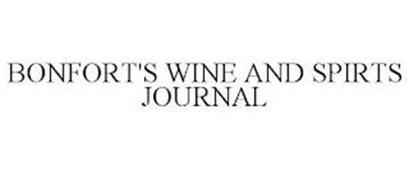 BONFORT'S WINE AND SPIRITS JOURNAL