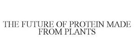 THE FUTURE OF PROTEIN MADE FROM PLANTS