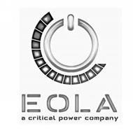 EOLA A CRITICAL POWER COMPANY