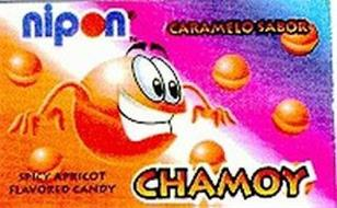 NIPON CARAMELO SABOR APRICOT FLAVORED CANDY CHAMOY