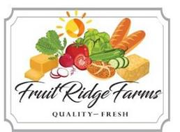 FRUIT RIDGE FARMS QUALITY - FRESH