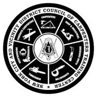 NEW YORK CITY AND VICINITY DISTRICT COUNCIL OF CARPENTERS TRAINING CENTER CONCRETE CARPENTERS CARPENTERS SHOP & INDUSTRIAL FLOOR COVERERS MILLWRIGHTS TIMBERMEN DOCKBUILDERS LABOR OMNIA VINCENT