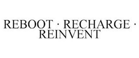 REBOOT · RECHARGE · REINVENT
