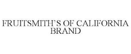 FRUITSMITH'S OF CALIFORNIA BRAND
